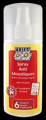 SPRAY ARIES ANTI MOUSTIQUES 100% NATUREL